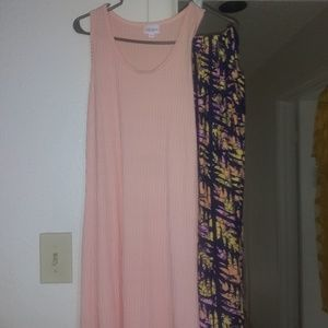 Lularoe dress with leggings size mediu